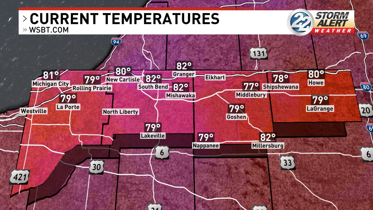 South Bend Maps News Weather Sports Breaking News WSBT - South bend indiana map