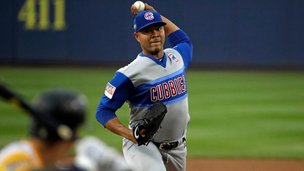 new styles d575d 7aa83 Quintana, Rizzo lead Cubs past Pirates 7-1 at LLWS | WSBT