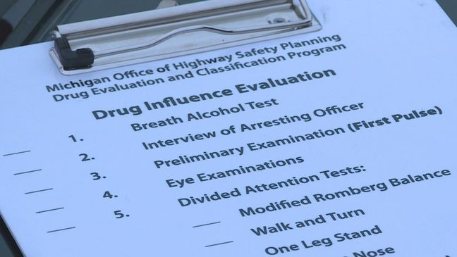 Police concerned about drugged driving, use tests to show