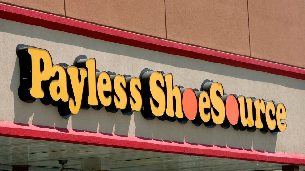 23, 2006, file photo shows a Payless store front is seen in Philadelphia. Paylesss ShoeSource is shuttering all of its 2,100 remaining stores in the U.S. ...