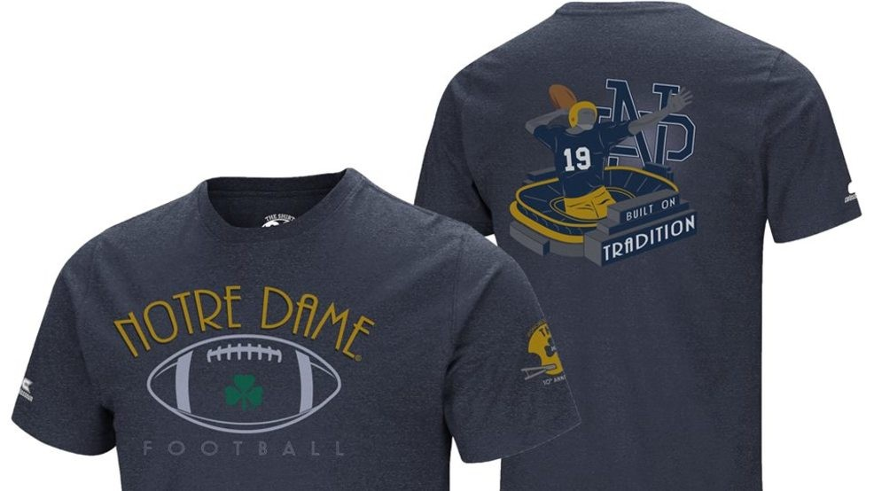 3469b4bdc2d Notre Dame's 2019 'The Shirt' is revealed | WSBT