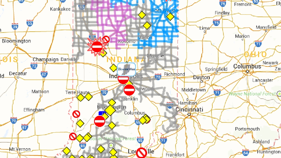 INDOT tips on road conditions and safety | WSBT on indiana gas prices map, indiana highway cameras, indiana utilities map, indiana driving map, indiana hunting seasons, indiana activities map, in road map, indiana map with ohio river, indiana sports map, indiana highway road conditions, ohio valley road map, indiana history map, indiana zoning map, indiana hospitals map, county road map, indiana travel map, indiana wildlife map, indiana snowfall totals, indiana time map, indiana terrain map,