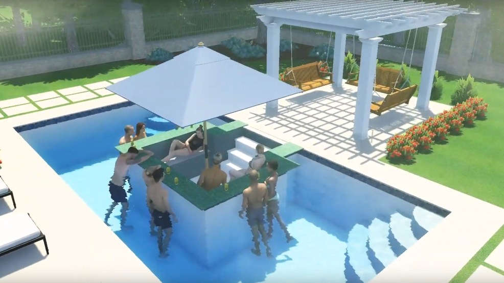 This Indiana company will install a sunken living room, swim ...
